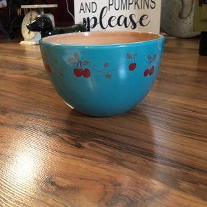 Beautiful Glass Cherry Bowl
